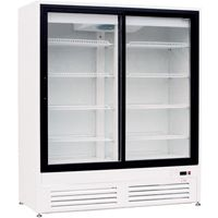 Холодильные шкафы со стеклянными дверями